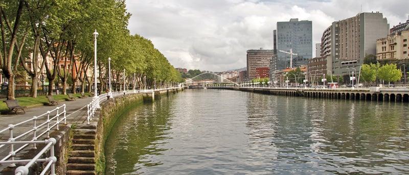 O que fazer em Bilbao: Rio Nervion