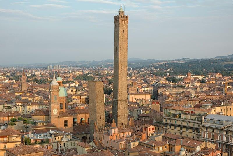 O que fazer em Bolonha: Duas Torres