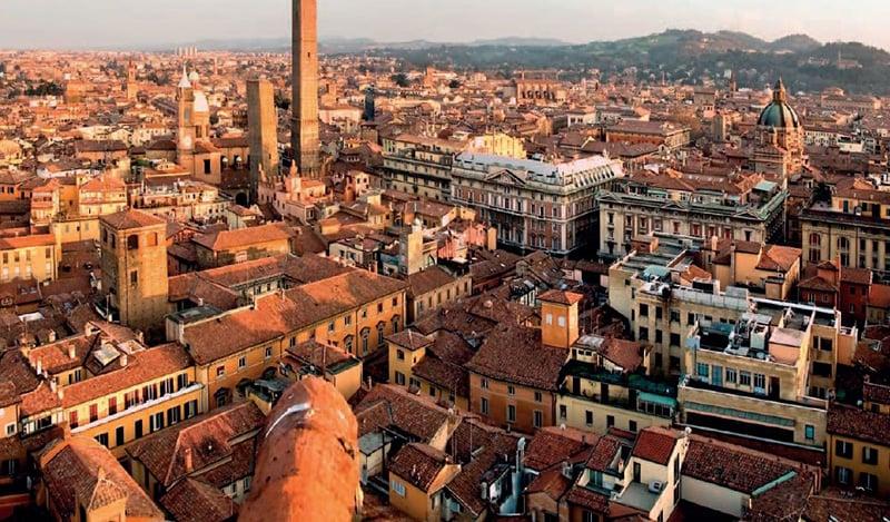 O que fazer em Bolonha: La Rossa