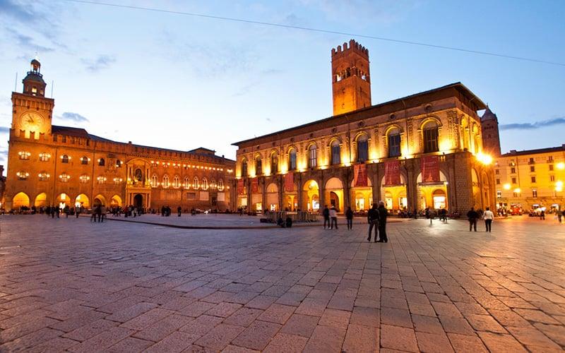 O que fazer em Bolonha: Piazza Maggiore