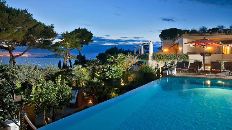 O que fazer em Capri: Hotel