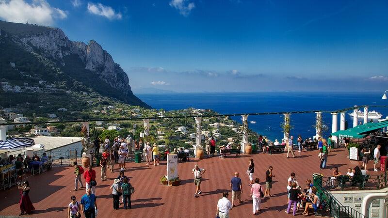 O que fazer em Capri: Piazzetta