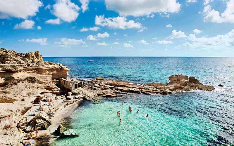 O que fazer em Formentera: Caló dês Mort