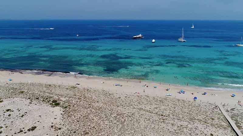 O que fazer em Formentera: Llevant