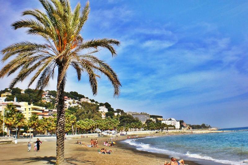 O que fazer em Malaga: Praias