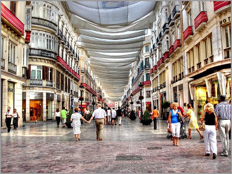O que fazer em Malaga: Calle Larios