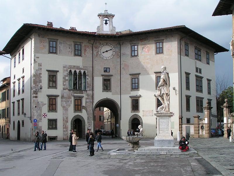 O que fazer em Pisa: Piazza dei Cavalieri