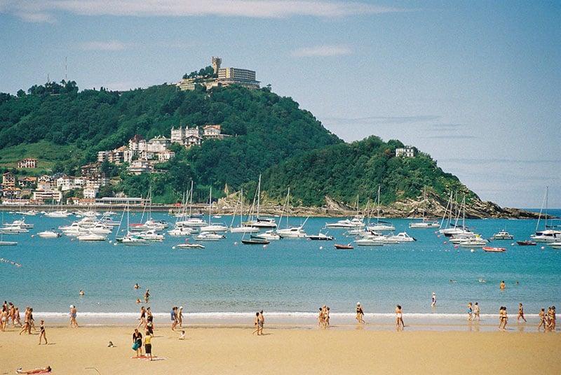 O que fazer em San Sebastián: Praia de la Concha
