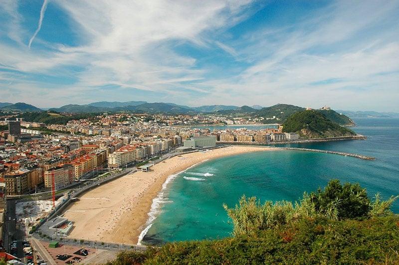 O que fazer em San Sebastián: Praia de la Zurriola