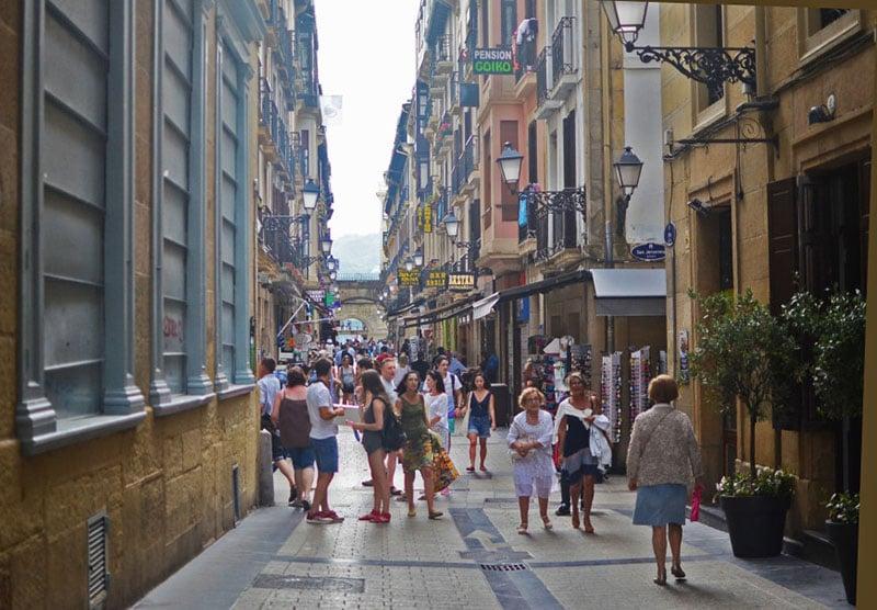 O que fazer em San Sebastián: Parte Vieja