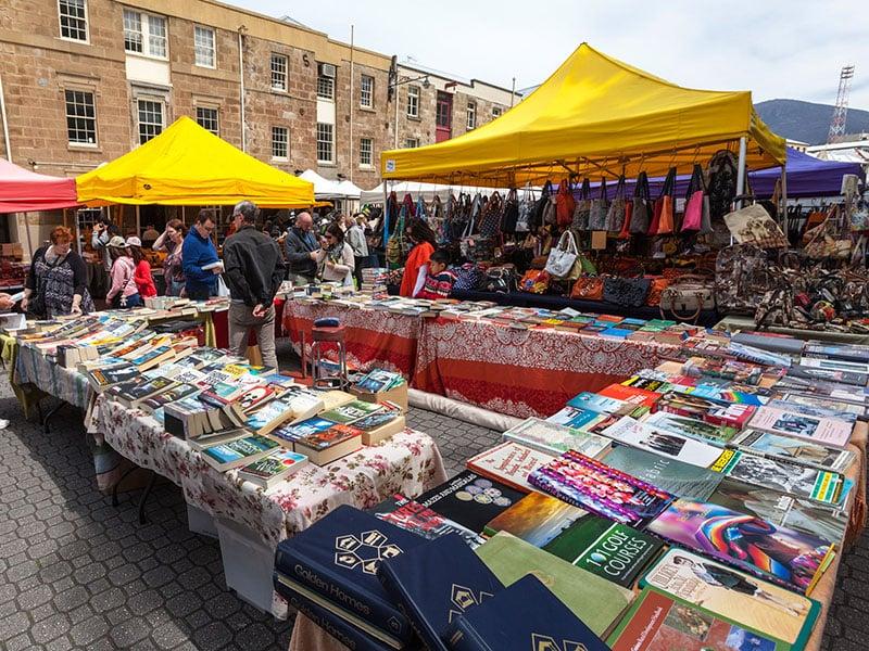 O que fazer em Hobart: Salamanca Market