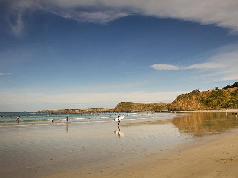 O que fazer em Apollo Bay: Surfe