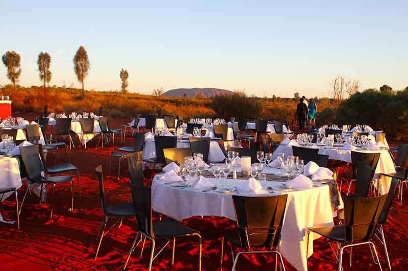 O que fazer em Ayers Rock: RestauranteSounds of Silence