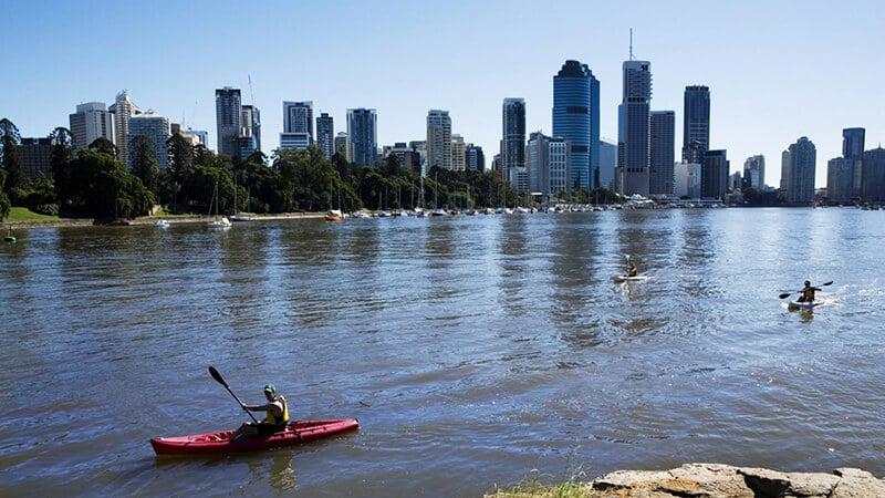 O que fazer em Brisbane: Rio Brisbane