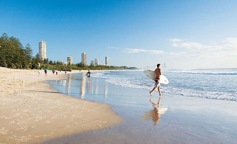 O que fazer em Brisbane: Praia