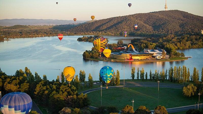 O que fazer em Canberra: Lago Burley Griffi