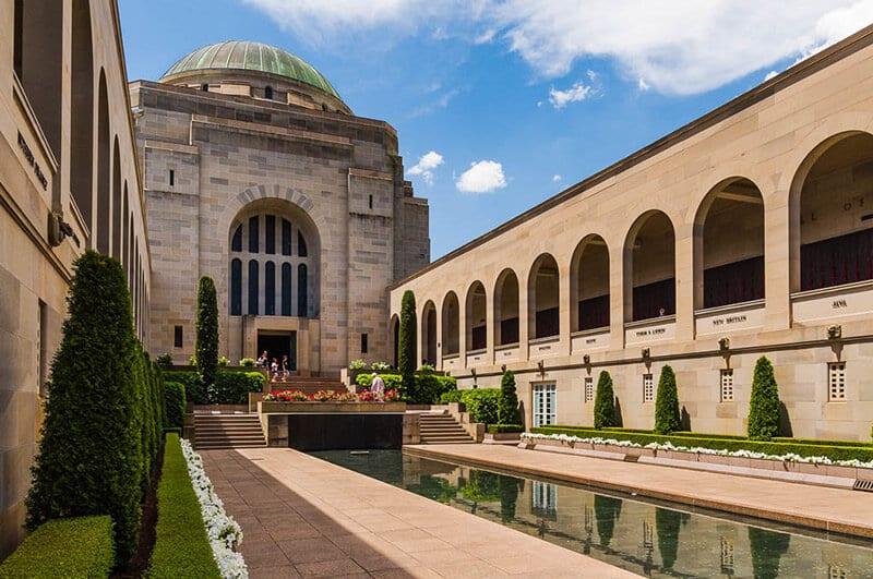 O que fazer em Canberra: Memorial de Guerra Australiano