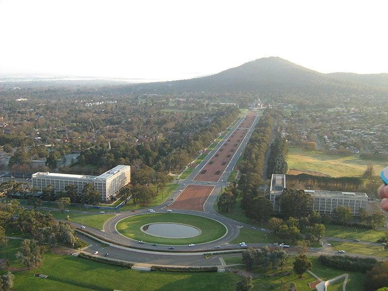 O que fazer em Canberra: Mount Ainslie