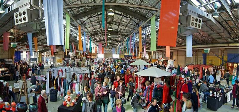 O que fazer em Canberra: Old Bus Depot Markets
