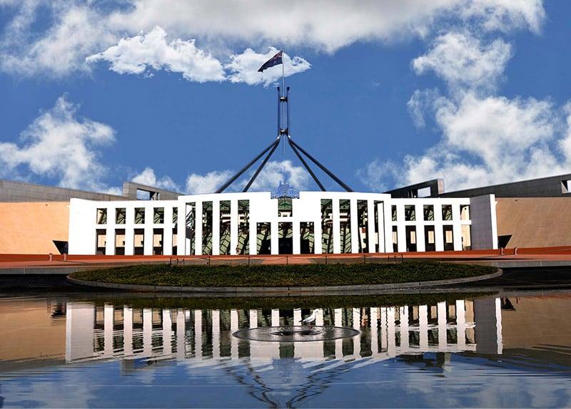 O que fazer em Canberra: Parlamento