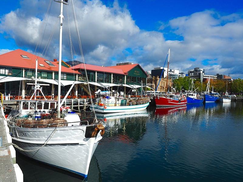 O que fazer em Hobart: Franklin Wharf