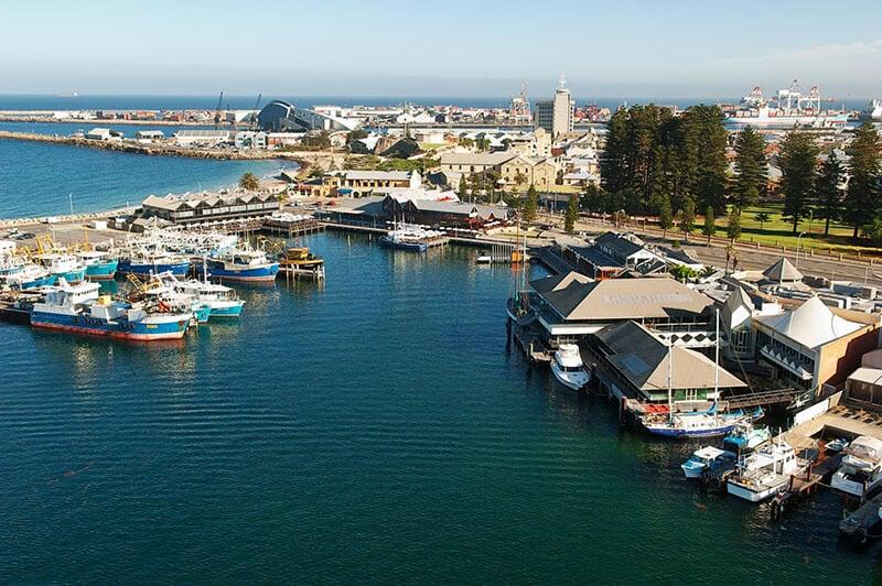 O que fazer em Perth: Porto Fremantle