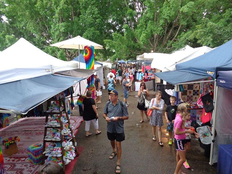 O que fazer em Sunshine Coast: Mercado Eumundi