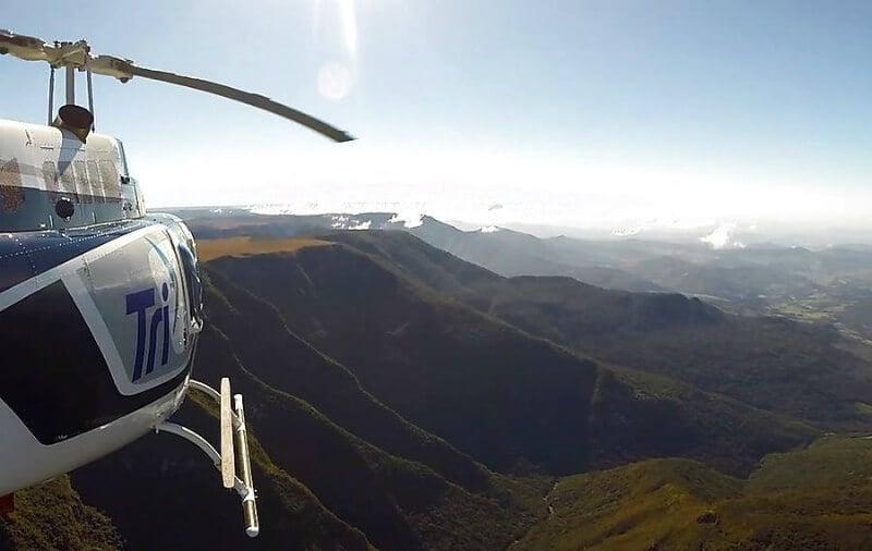O Que Fazer em Canela: passeio de helicóptero