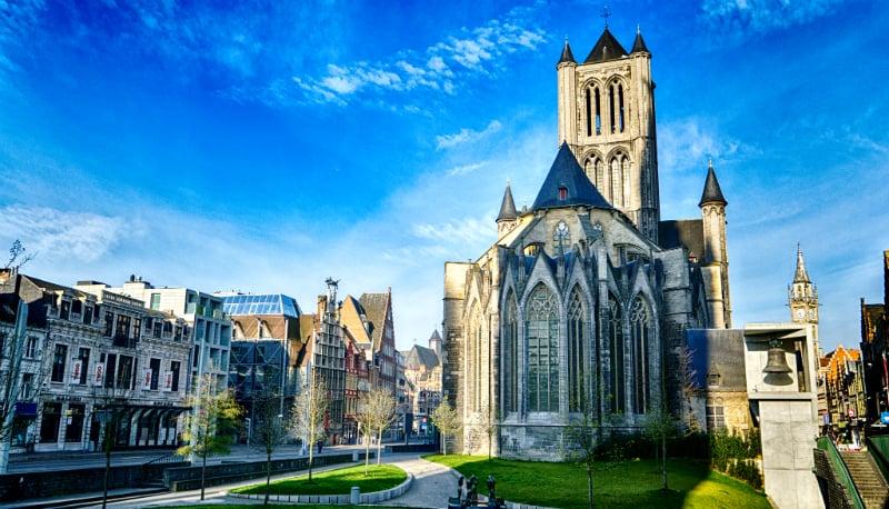 O Que Fazer em Gante: igrejas