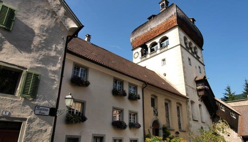 O Que Fazer em Bregenz: Torre de São Martinho