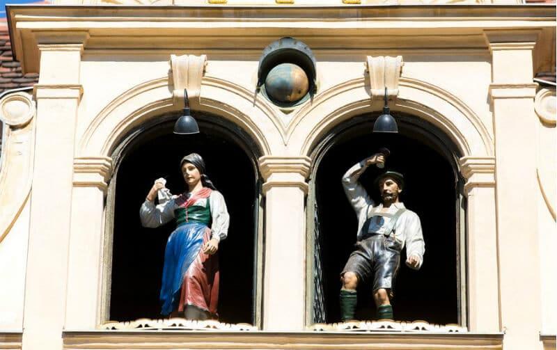 O Que Fazer em Graz na Áustria: Glockenspiel