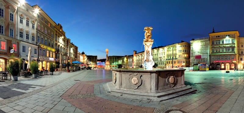 O Que Fazer em Linz: centro histórico