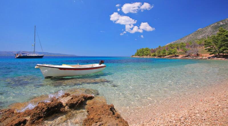 O Que Fazer em Trogir: praias