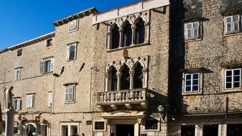 O Que Fazer em Trogir: Palácio Cipiko